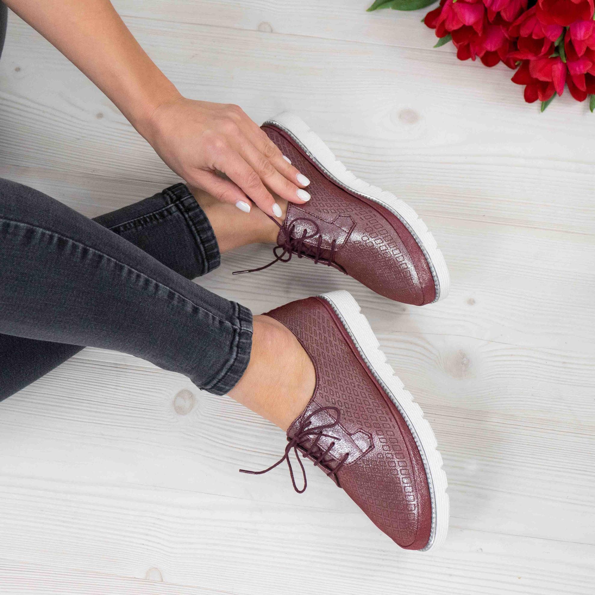 Imagine Pantofi damă piele naturală 143 VISINIU