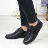 Imagine Pantofi sport bărbați piele naturală 433Y Negru TS
