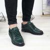 Imagine Pantofi sport bărbați piele naturală 433Y verde
