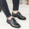 Imagine Pantofi eleganți bărbați din piele naturală 397 negru SW