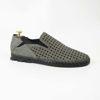 Imagine Pantofi casual bărbați piele naturală C116  GREEN perforat