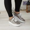 Imagine Pantofi damă piele naturală 137 GRI