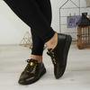 Imagine Pantofi damă piele naturală 145 Negru-galben