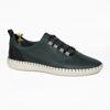 Imagine Pantofi casual bărbați piele naturală 691 Verde
