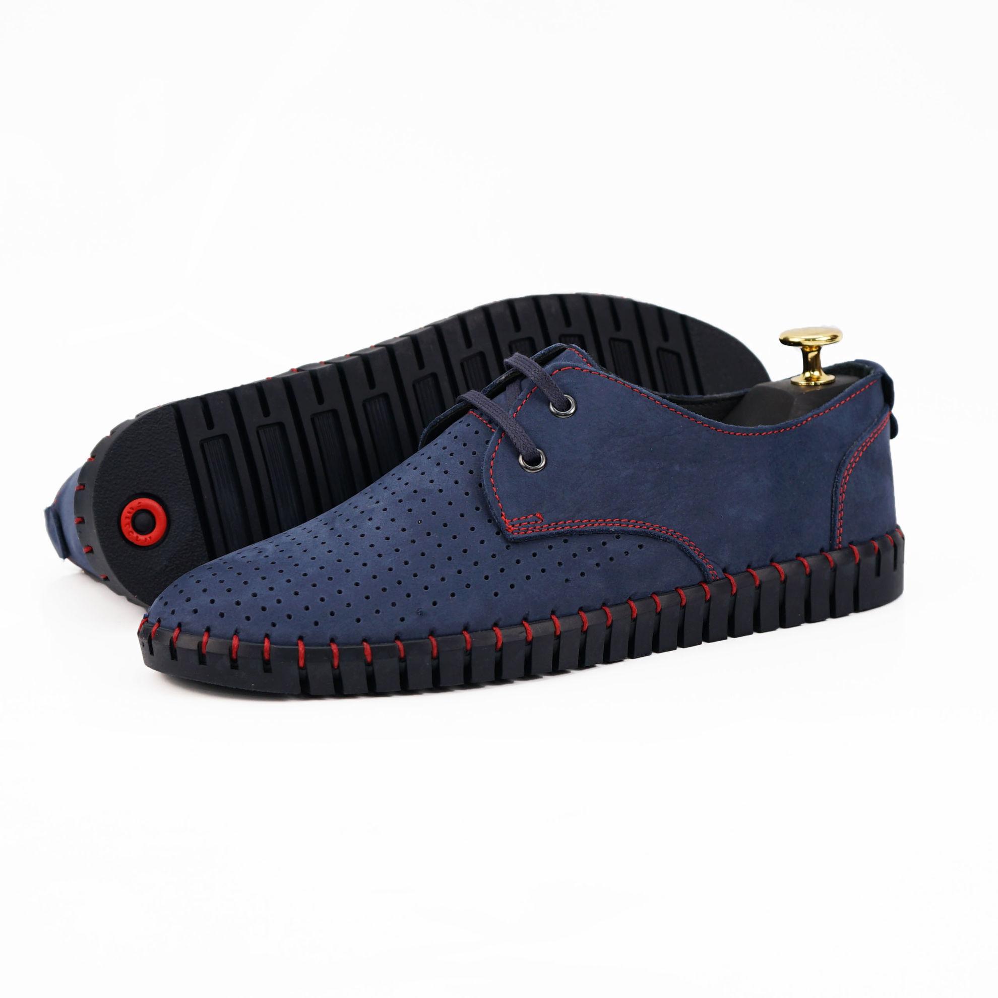 Imagine Pantofi casual bărbați piele naturală 560 BLR