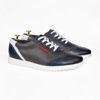 Imagine Pantofi sport bărbați piele naturală 432 Blue