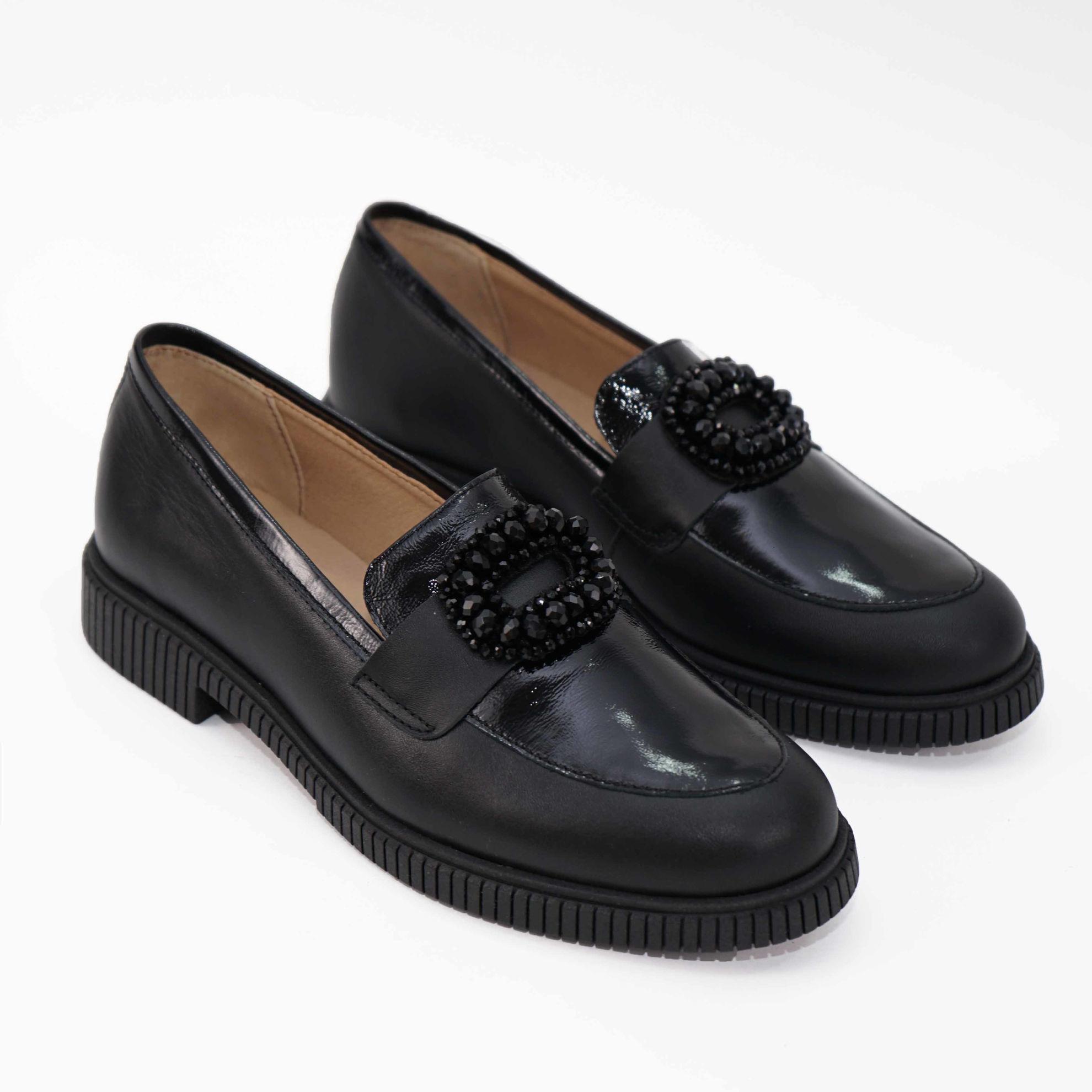 Imagine Pantofi damă piele naturală L 211 Negru