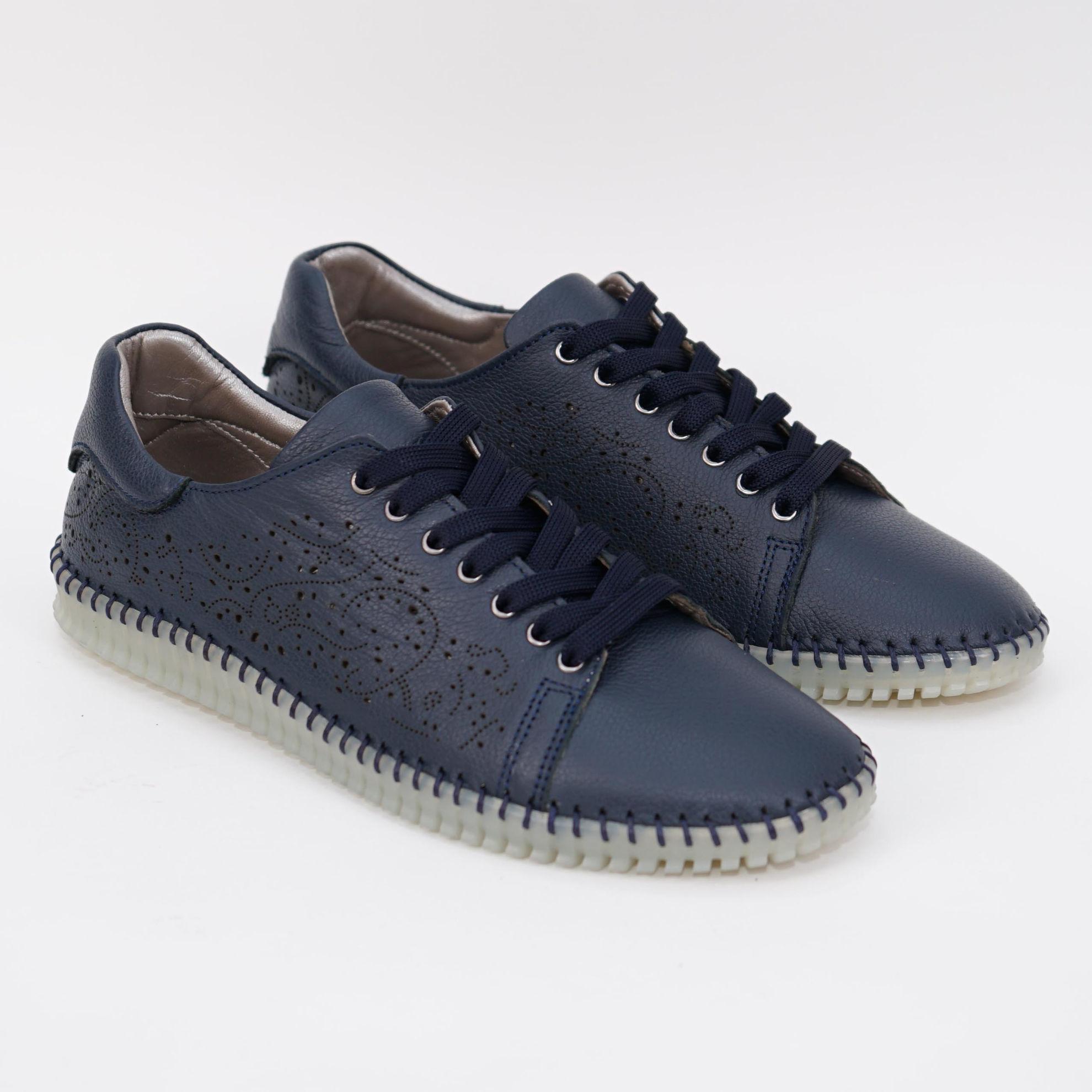 Imagine Pantofi damă piele naturală 147 bleomarin