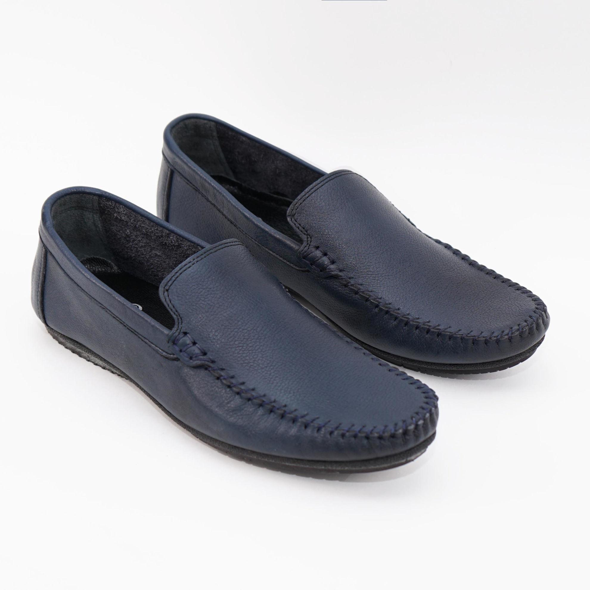 Imagine Pantofi casual bărbați piele naturală m100 blue